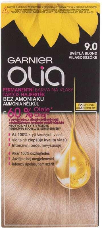 Garnier Olia Hair Color 9,0 Light Blonde 50gr (Colored Hair - Blonde Hair - All Hair Types)