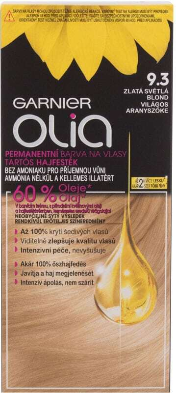 Garnier Olia Hair Color 9,3 Golden Light Blonde 50gr (Colored Hair - Blonde Hair - All Hair Types)