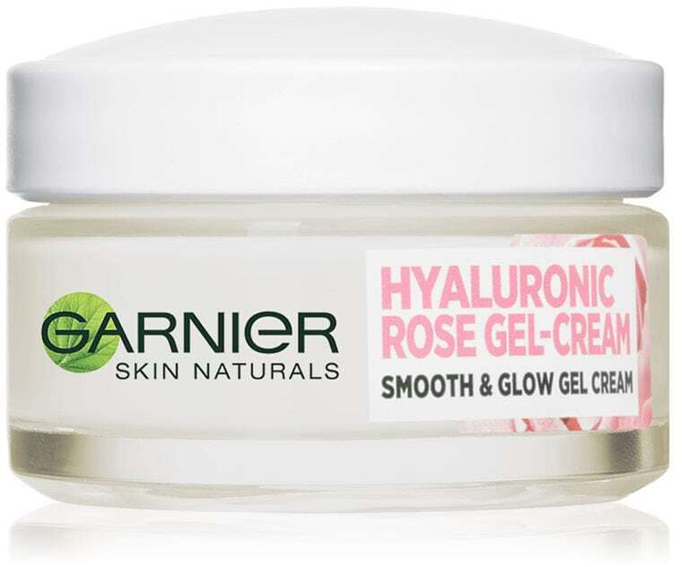 Garnier Skin Naturals Hyaluronic Rose Gel-Cream Day Cream 50ml (For All Ages)