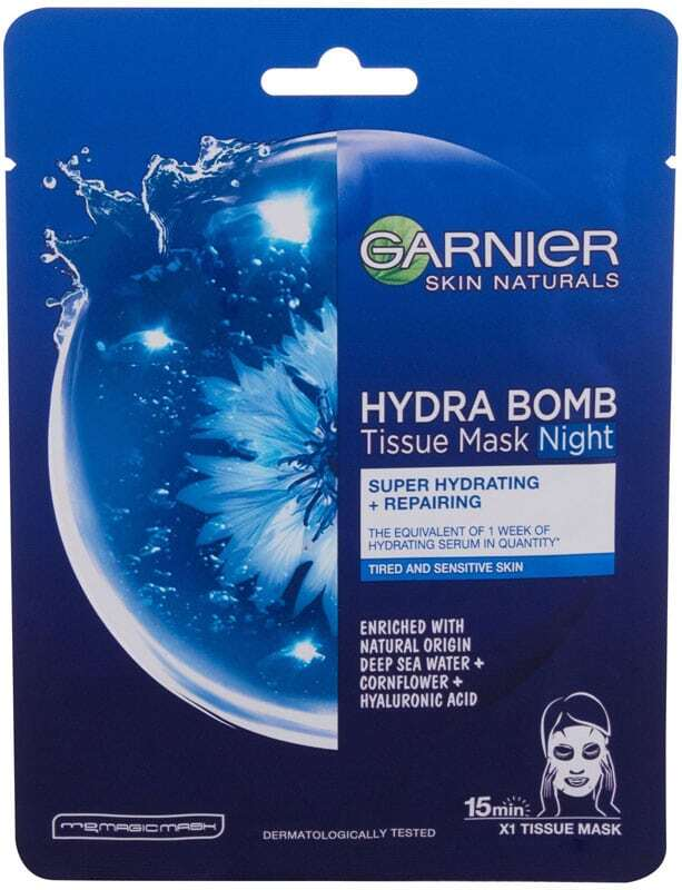 Garnier Skin Naturals Hydra Bomb Night Face Mask 1pc (For All Ages)