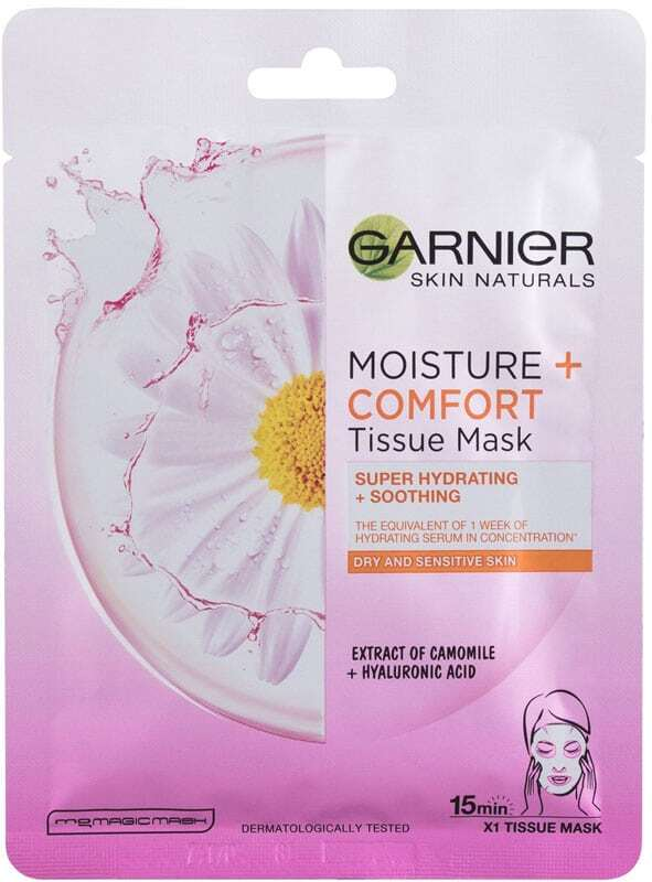 Garnier Skin Naturals Moisture + Comfort Face Mask 1pc (For All Ages)