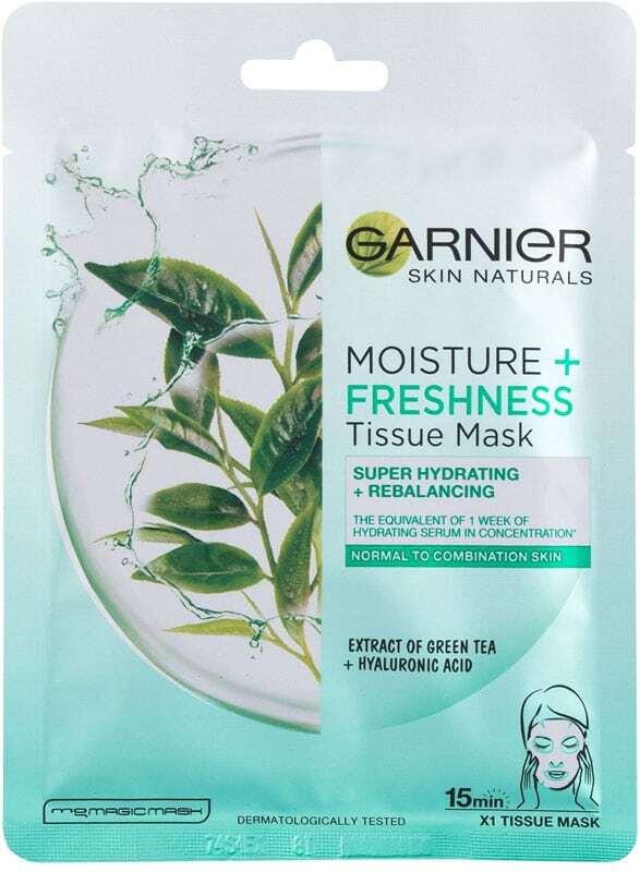 Garnier Skin Naturals Moisture + Freshness Face Mask 1pc (For All Ages)