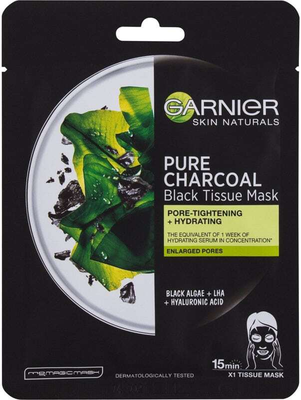 Garnier Skin Naturals Pure Charcoal Algae Face Mask 1pc (For All Ages)