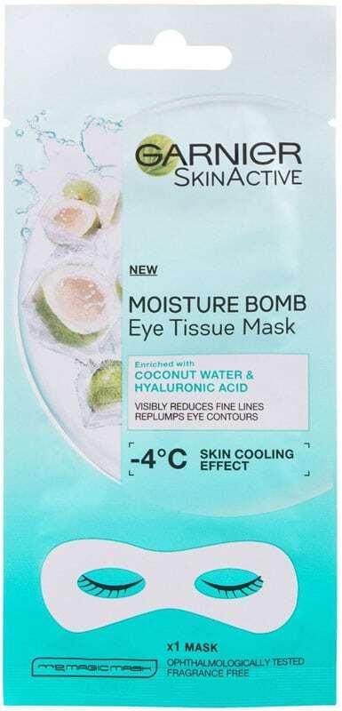 Garnier SkinActive Moisture Bomb Coconut Water & Hyaluronic Acid Eye Gel 1pc (Wrinkles)
