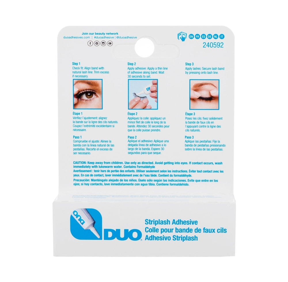 Ardell Duo Striplash Adhesive False Eyelashes 7gr