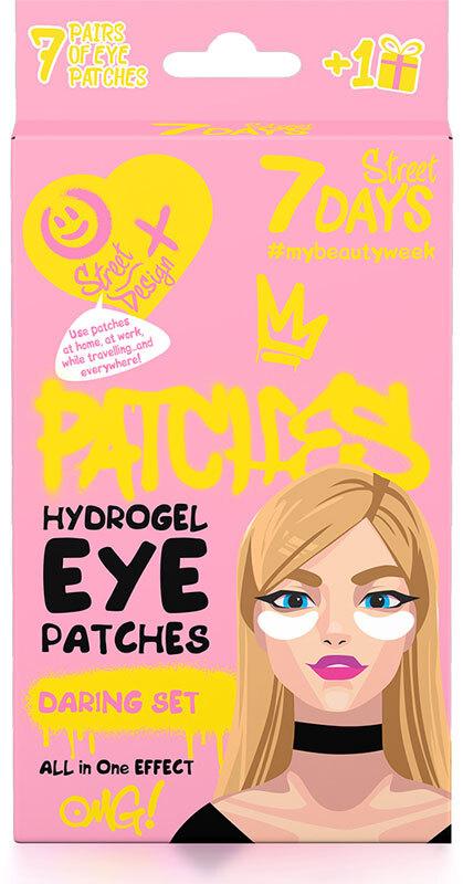Gift Set 7Days Eye Patches Street Design (Περιέχει 7 Eye Patches + 1 Δωρο)