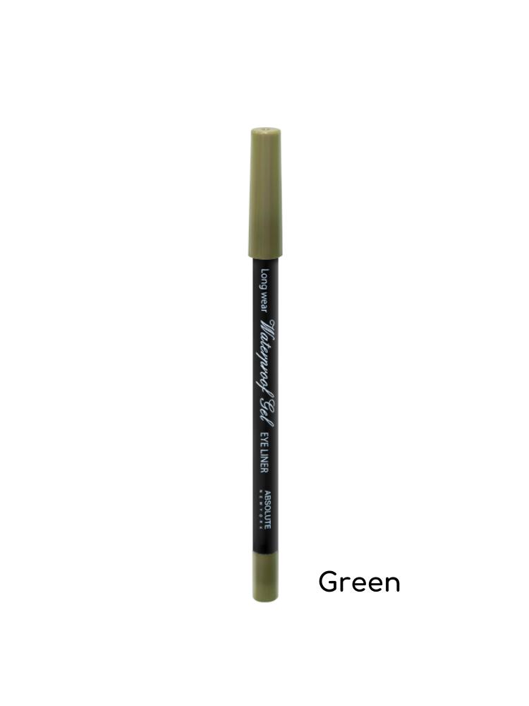 Absolute New York Waterproof Gel Eye Liner - NFB82 Green 1,1gr
