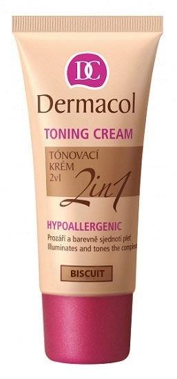 Dermacol Toning Cream 2in1 Bb Cream 30ml Biscuit