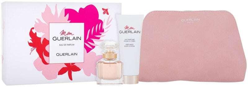 Guerlain Mon Guerlain Eau de Parfum 30ml Combo: Edp 30 Ml + Body Lotion 75 Ml + Cosmetic Bag