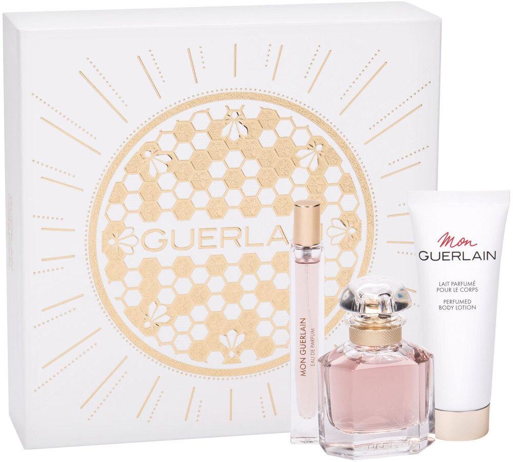 Guerlain Mon Guerlain Eau de Parfum 50ml Combo: Edp 50 Ml + Edp 10 Ml + Body Lotion 75 Ml