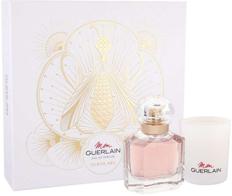 Guerlain Mon Guerlain Eau de Parfum 50ml Combo: Edp 50 Ml + Fragrant Candle 75 G