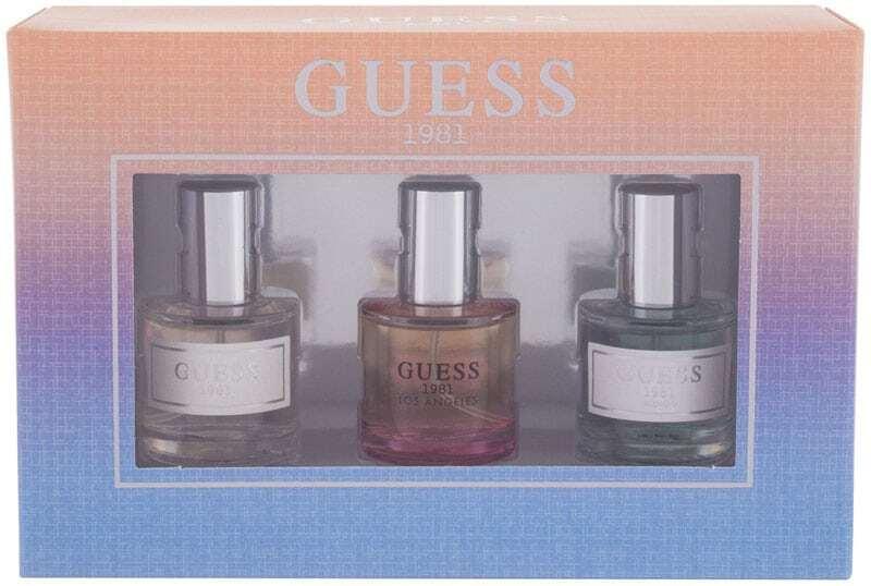 Guess Guess 1981 Eau de Toilette 15ml Combo: Edt 15 Ml + Edt Guess 1981 Los Angeles 15 Ml + Edt Guess 1981 Indigo 15 Ml