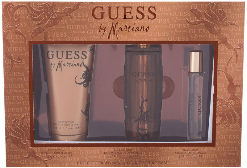 Guess Guess by Marciano Eau de Parfum 100ml Combo: Edp 100 Ml + Edp 15 Ml + Body Lotion 200 Ml
