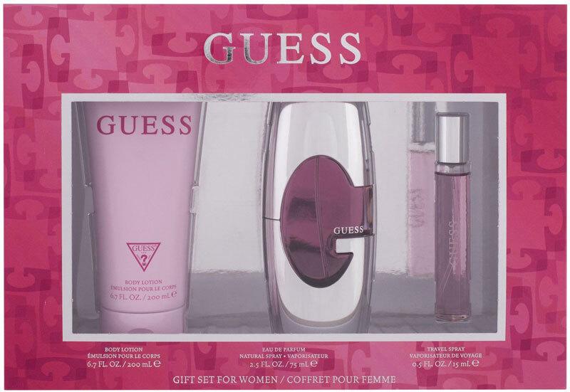 Guess Guess For Women Eau de Parfum 75ml Combo: Edp 75 Ml + Edp 15 Ml + Body Lotion 200 Ml
