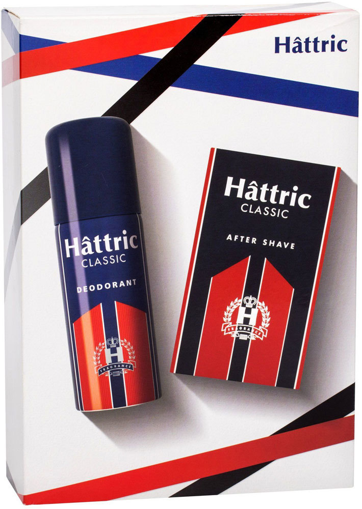 Hattric Classic Deodorant 150ml Combo: Deodorant 150 Ml + Aftershave Lotion 100 Ml (Deo Spray)