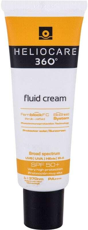 Heliocare 360 Fluid Cream SPF50+ Face Sun Care 50ml (Waterproof)