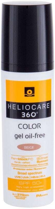 Heliocare 360 SPF50+ Face Sun Care Beige 50ml