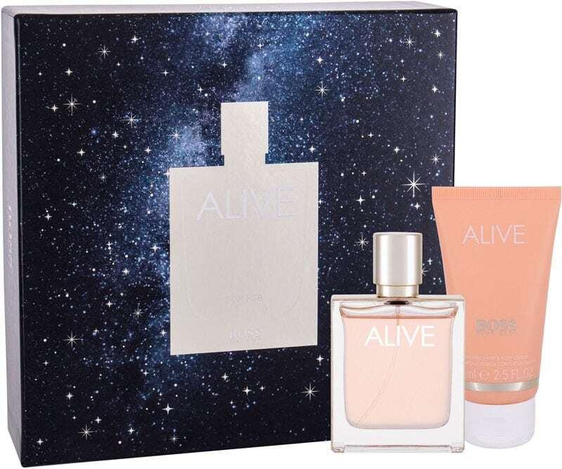Hugo Boss BOSS Alive Eau de Parfum 50ml Combo: Edp 50 Ml + Body Lotion 75 Ml