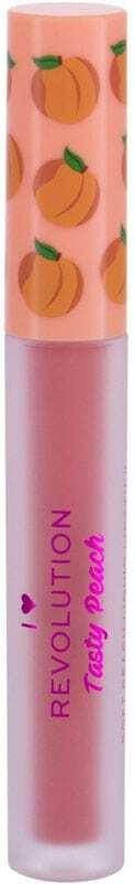 I Heart Revolution Tasty Peach Liquid Lipstick Apricot 2gr