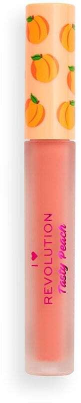 I Heart Revolution Tasty Peach Liquid Lipstick Bellini 2gr