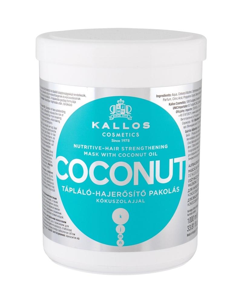 Kallos Cosmetics Coconut Hair Mask 1000ml (Weak Hair - Dry Hair - All Hair Types)