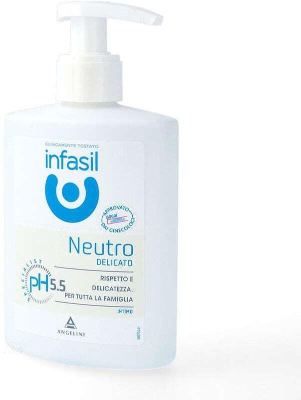 Infasil Neutro Intimate Liquid Soap Intimate Cosmetics 200ml