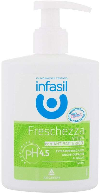 Infasil Refreshing Intimate Liquid Soap Intimate Cosmetics 200ml