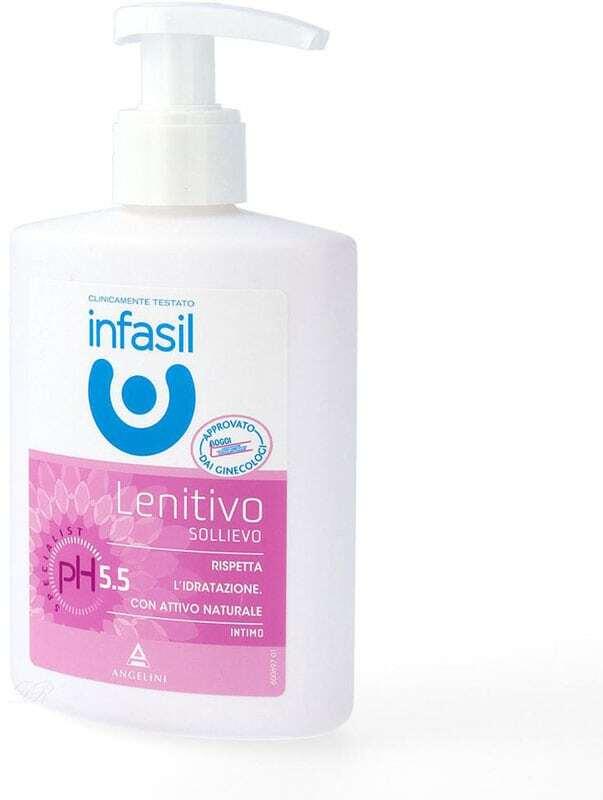 Infasil Soothing Intimate Liquid Soap Intimate Cosmetics 200ml