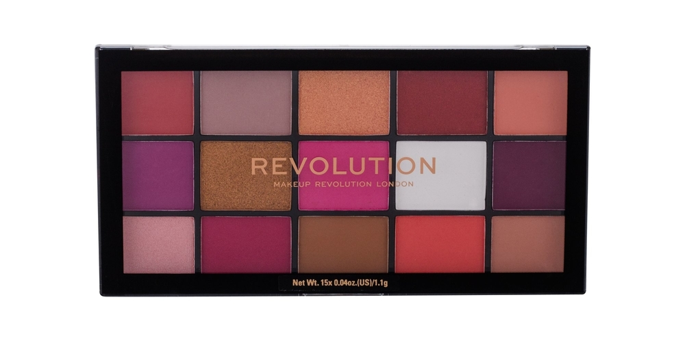 Makeup Revolution London Re-loaded Eye Shadow 16,5gr Red Alert