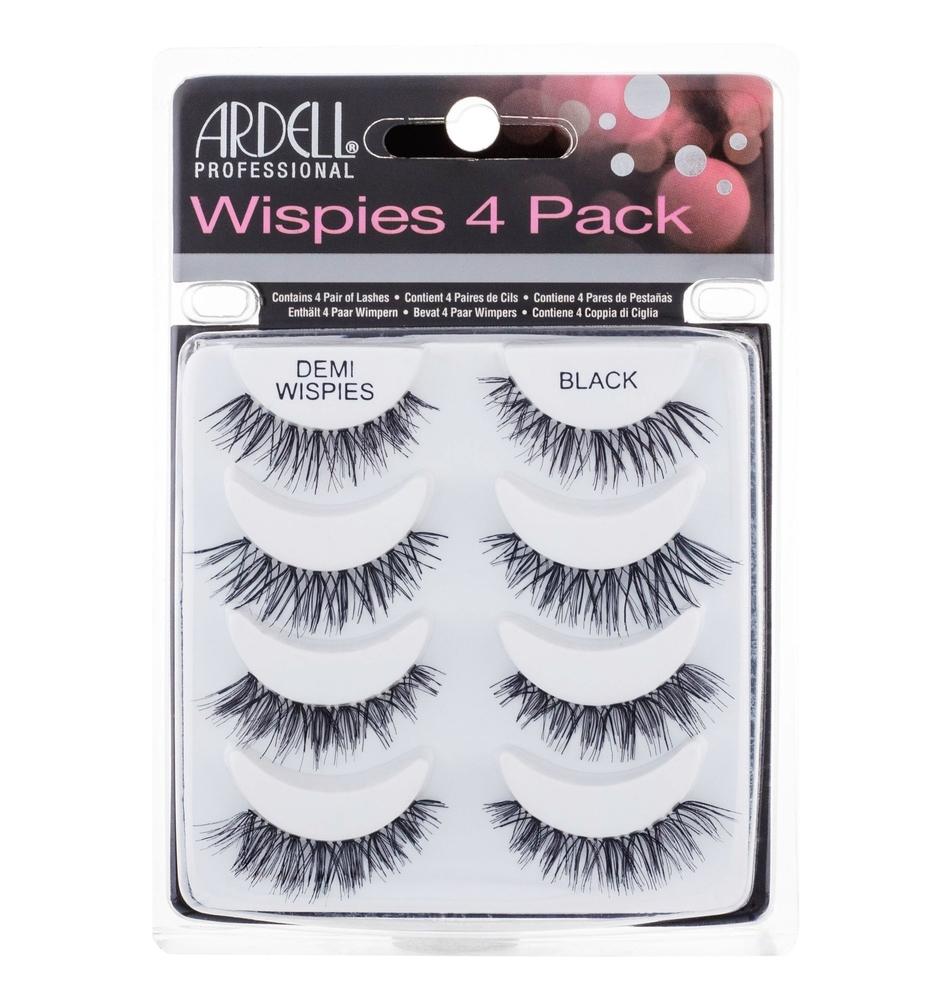 Ardell Wispies Demi Wispies False Eyelashes 4pc Black