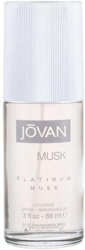 Jovan Musk Platinum Musk Eau de Cologne 88ml