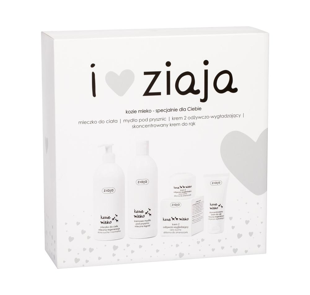 Ziaja Goat/s Milk Shower Cream 500ml - Set