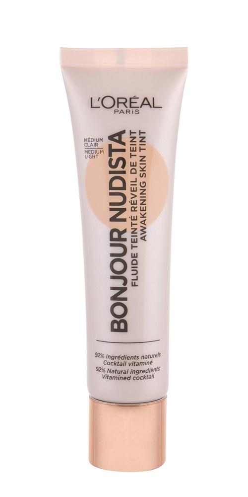 Loreal-makeup Bonjour Nudista Bb Cream 02 Medium Light 30ml