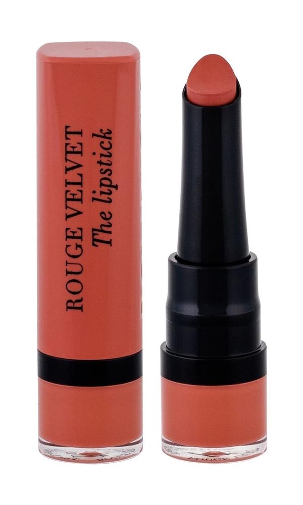 Bourjois Paris Rouge Velvet The Lipstick Lipstick 2,4gr 15 Peach Tatin (Matt)