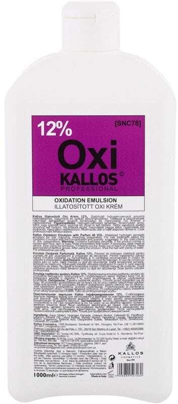 Kallos Cosmetics Oxi 12% Hair Color 1000ml (Colored Hair)