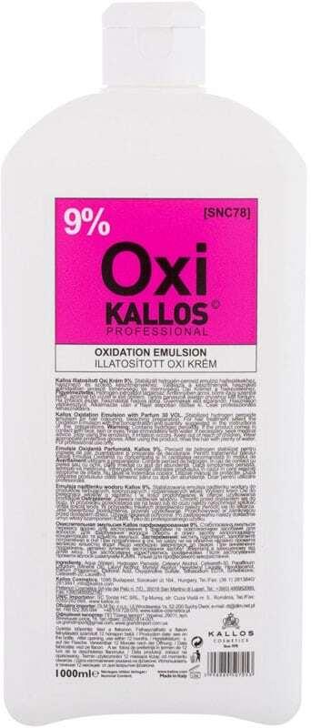 Kallos Cosmetics Oxi 9% Hair Color 1000ml (Colored Hair)