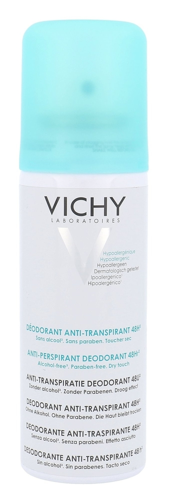 Vichy Deodorant Antiperspirant Deodorant 125ml Alcohol Free 48h (Deo Spray)