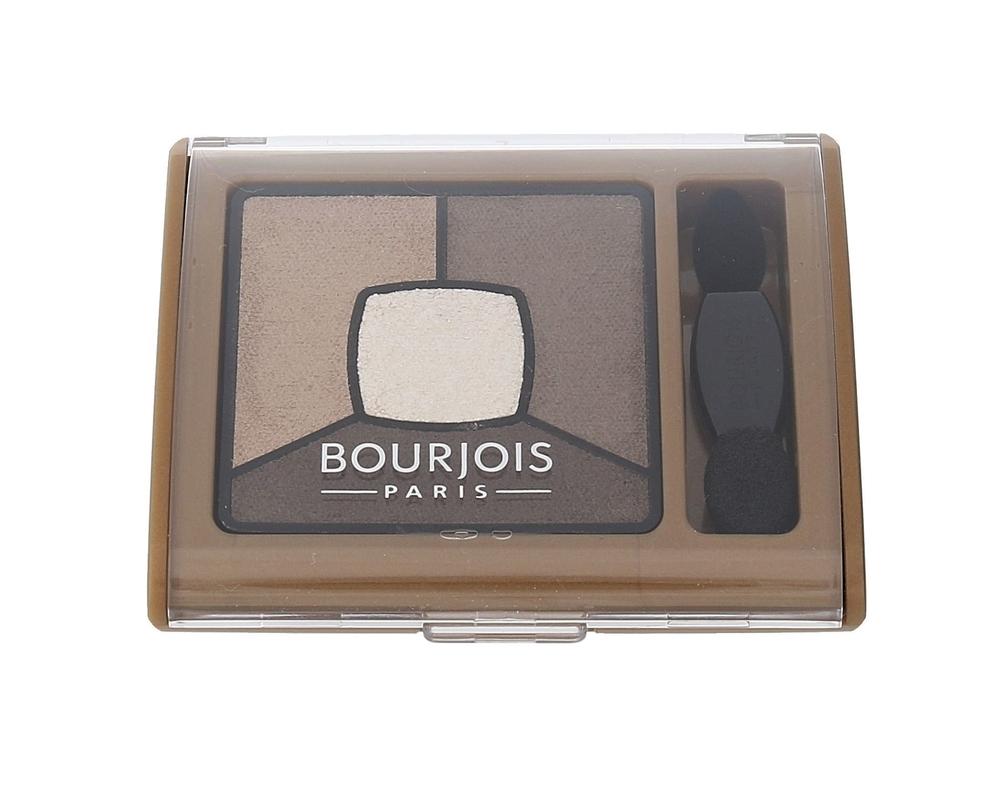 Bourjois Paris Smoky Stories Quad Eyeshadow Palette Eye Shadow 3,2gr 06 Upside Brown