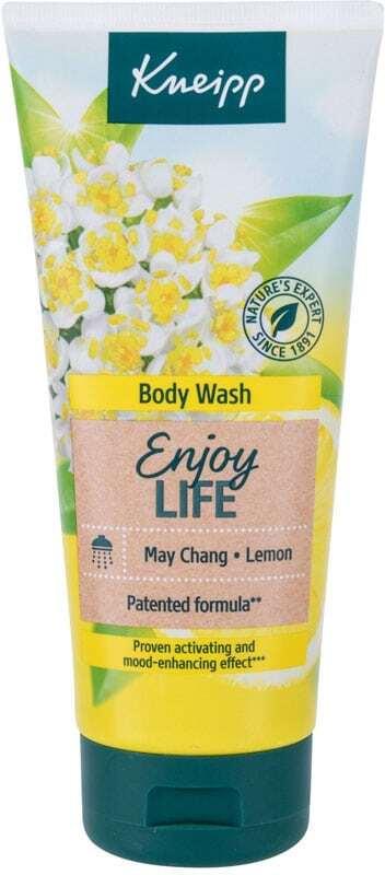 Kneipp Body Wash Enjoy Life May Chang & Lemon Shower Gel 200ml