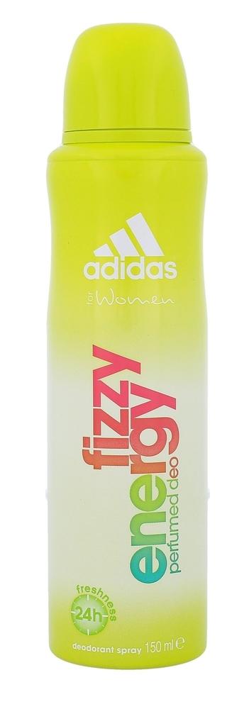Adidas Fizzy Energy For Women Deodorant 150ml Aluminum Free (Deo Spray)