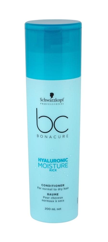 Schwarzkopf Bc Bonacure Hyaluronic Moisture Kick Conditioner 200ml (Normal Hair - Dry Hair)