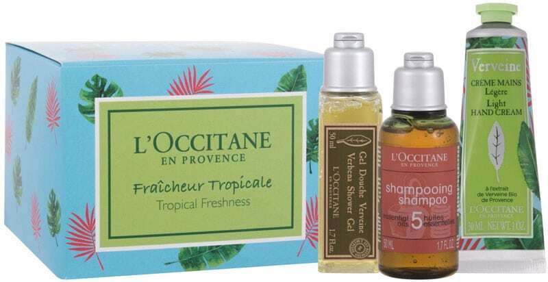 L´occitane Tropical Freshness Shower Gel 50ml Combo: Verbena Shower Gel 50 Ml + 5 Essential Oils Shampoo 50 Ml + Verveine Light Hand Cream 30 Ml