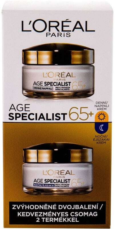 L´oréal Paris Age Specialist 65+ Day Cream 50ml Combo: Daily Facial Care 50 Ml + Night Facial Care 50 Ml (Wrinkles)
