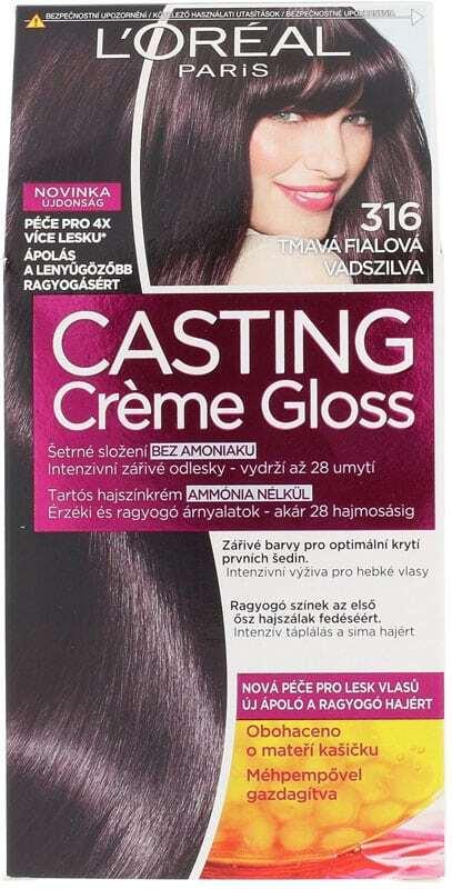 L´oréal Paris Casting Creme Gloss Hair Color 316 Plum 1pc