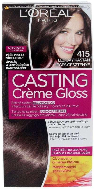 L´oréal Paris Casting Creme Gloss Hair Color 415 Iced Chocolate 1pc