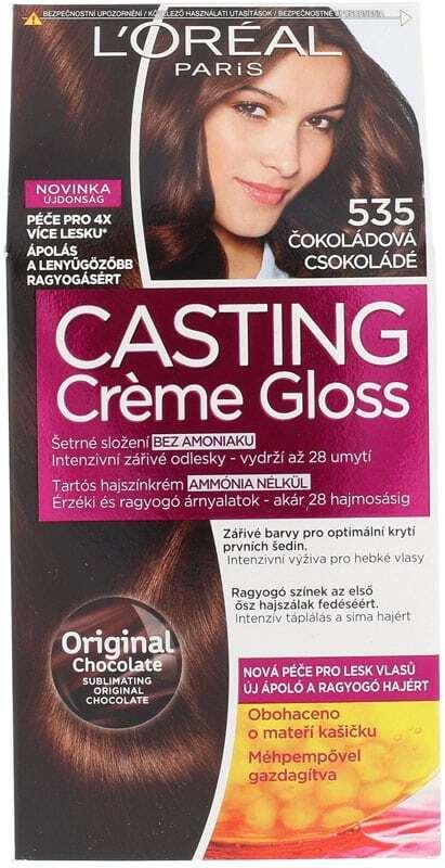 L´oréal Paris Casting Creme Gloss Hair Color 535 Chocolate 1pc