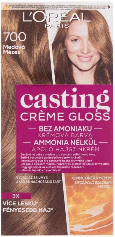 L´oréal Paris Casting Creme Gloss Hair Color 700 Honey 48ml (Colored Hair - All Hair Types)
