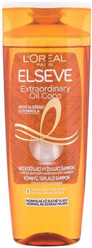 L´oréal Paris Elseve Extraordinary Oil Coconut Shampoo 400ml (Normal Hair - Dry Hair)