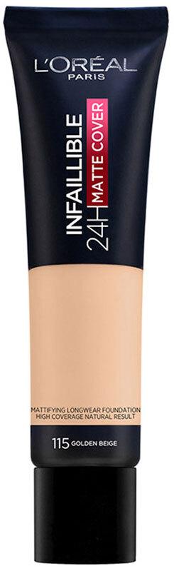 L´oréal Paris Infallible 24H Matte Cover Makeup 115 Golden Beige 30ml