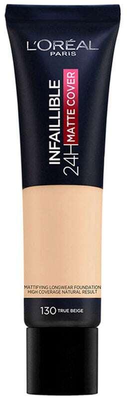 L´oréal Paris Infallible 24H Matte Cover Makeup 130 True Beige 30ml